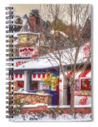 Patsy's Candies In Snow Spiral Notebook