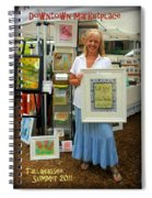 Downtown Marketplace Show Spiral Notebook