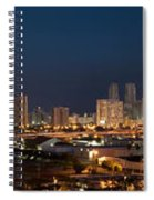 Downtown Miami Skyline At  Spiral Notebook