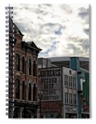 Downtown Nashville Spiral Notebook
