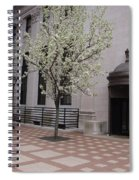 Downtown New Haven Connecticut Spiral Notebook