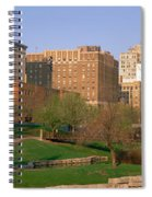 Downtown Omaha Ne Spiral Notebook
