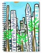 Downtown Spiral Notebook