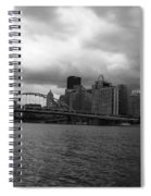 Downtown Pittsburgh Spiral Notebook