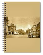 Downtown Port Chester Spiral Notebook