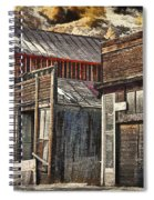 Downtown Silver Plume Spiral Notebook
