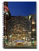 Downtown Spokane Washington Spiral Notebook