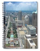 Downtown St. Louis Spiral Notebook