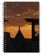 Downtown Sunrise Spiral Notebook
