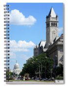 Downtown Washington Spiral Notebook