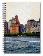 Downtown With Edward Spiral Notebook