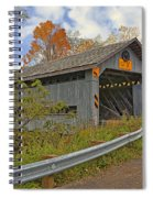Doyle Road Covered Bridge Spiral Notebook