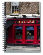 Doyles The Times We Live Inn - Dublin Ireland Spiral Notebook