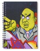 Dr Evil Spiral Notebook