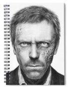 Dr. Gregory House - House Md Spiral Notebook