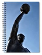 Dr. J. Spiral Notebook