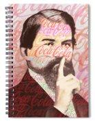 Dr. John Pemberton Inventor Of Coca-cola Spiral Notebook