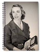 Dr Joyce Brothers 1959 Spiral Notebook