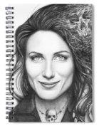 Dr. Lisa Cuddy - House Md Spiral Notebook