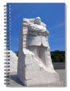 Dr Martin Luther King Memorial Spiral Notebook