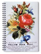 Dr Morse's Yellow Dock Root Syrup Spiral Notebook