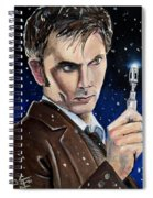 Dr Who #10 - David Tennant Spiral Notebook