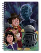 Dr Who 4th Doctor Jelly Baby Spiral Notebook