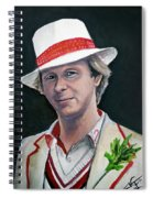 Dr Who #5 - Peter Davison Spiral Notebook