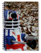 Dr Who - Forest Dalek Spiral Notebook