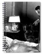 Dracula Bela Lugosi Fantasy Nude Spiral Notebook