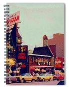 Dracula Castle Tussaud Wax Museum Niagara Falls Ontario Attractions Vintage Art C Spandau Paintings Spiral Notebook