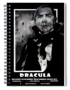 Dracula Movie Poster 1931 Spiral Notebook