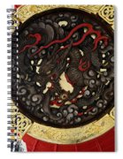 Dragon At The Senso-ji Temple Spiral Notebook