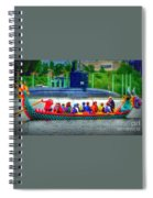 Dragon Boat Challenges Submarine  Spiral Notebook