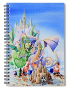 Dragon Castle Spiral Notebook
