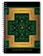 Dragon Egg Celtic Cross Spiral Notebook