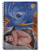 Dragon Hand Embroidery Spiral Notebook