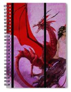 Dragon Power-featured In Comfortable Art Group Spiral Notebook