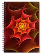 Dragon Scale Spiral Notebook