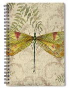 Dragonfly Daydreams-a Spiral Notebook