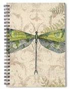 Dragonfly Daydreams-c Spiral Notebook