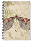 Dragonfly Daydreams-d Spiral Notebook