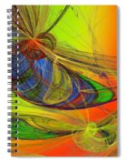 Dragonfly Fancy Spiral Notebook