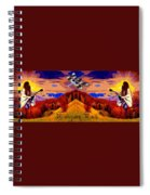 Dragonfly Morning 1 Spiral Notebook