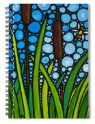 Dragonfly Pond By Sharon Cummings Spiral Notebook