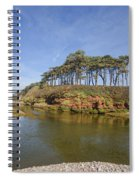 Dragons Back Budleigh Salterton Spiral Notebook