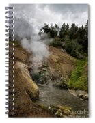 Dragon's Mouth Spring - Yellowstone Spiral Notebook
