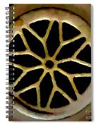 Drain Cover Spiral Notebook