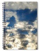 Drama Cloud Sunset I Spiral Notebook