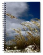 Drama In The Sky  Spiral Notebook